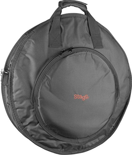 Stagg CYB-10 22-Inch Economy Dual Pocket Cymbal Bag