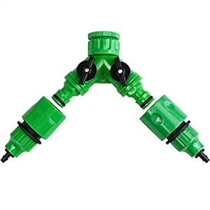 Micro Irrigation Accessories 2 Way Male Quick Release Connector