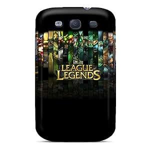 Excellent Design League Of Legends Phone Case For Galaxy S3 Premium Tpu Case
