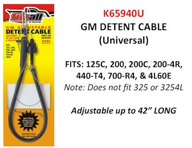 700r4 Detent Cable - 3