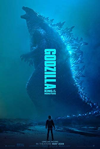 Amazon Com Godzilla King Of The Monsters 2019 Original Authentic Movie Poster 27x40 Double Sided Kyle Chandler Vera Farmiga Ken Watanabe Everything Else