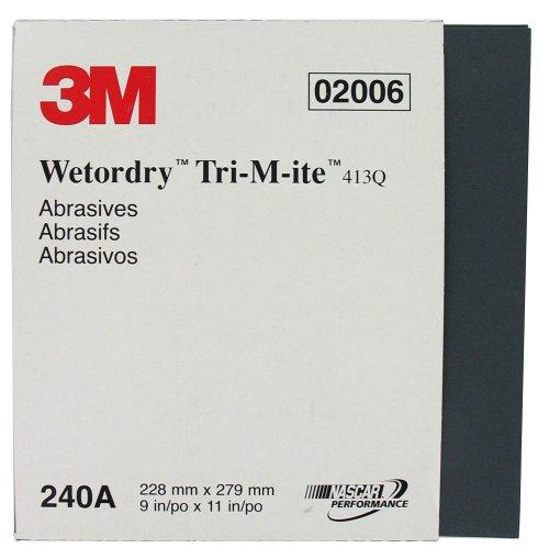 3m-pro-pak-02006-9x11-wet-dry-sand-paper-sheets-240-grit-50-pack