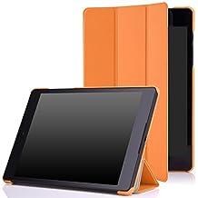 Google Nexus 9 Case - MoKo Ultra Slim Lightweight Smart-shell Stand Cover Case for Google Nexus 9 8.9 inch Volantis Flounder Android 5.0 Lollipop tablet by HTC, ORANGE