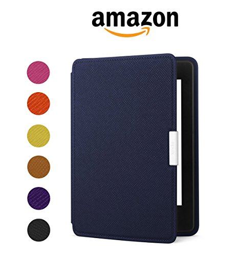 Amazon Kindle Paperwhite Leather Case, Ink Blue - fits all Paperwhite generations prior to 2018 (Will not fit...