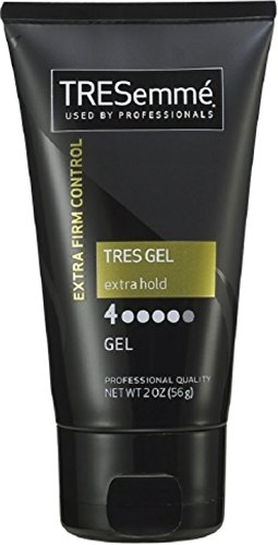 TRESemme Tres Gel Extra Firm Control Hair Gel, 2 Ounce (Pack of 3)