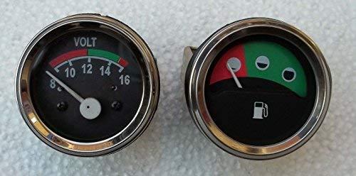 Massey Ferguson Tractor Gauge-Volt Meter+Fuel for 230,235,240,243,245,250,253:
