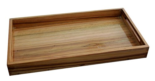 Village Creation Wooden Trays Natural Gloss (Set of 3) by Village Creation (Image #2)