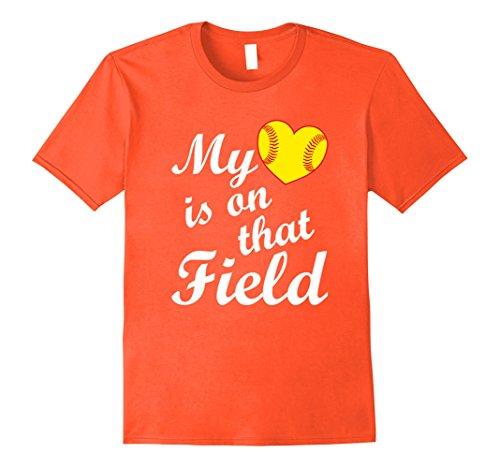 Heart Softball Field Mom Dad product image
