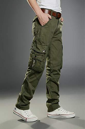 Ranger Pour Elle Armée cargo De Fit Lâche Réchauffant Coton Pocket Travaux Grün Plein Hommes Divers Décontracté Air L'eau Pantalon 5FtAqTx0wn