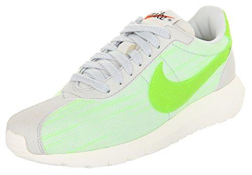 Zapatillas Nike W Roshe Ld-1000 Para Mujer Negro 819843 001 Pure Platinum / Electric Green-sail