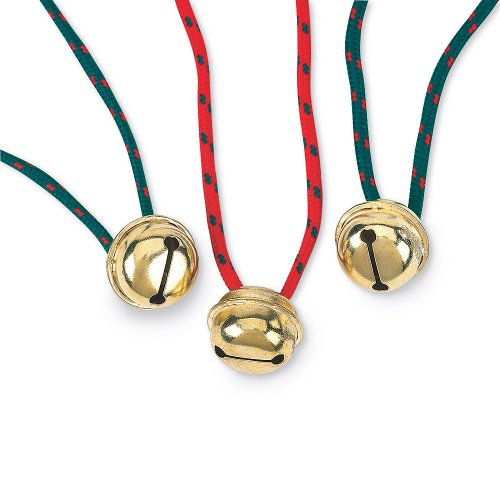 (SmileMakers 24 Jingle Bell Necklaces)