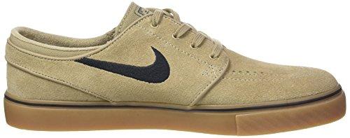 Nike Homme Zoom Stefan Janoski Chaussure De Skate Kaki / Noir / Gomme Marron Clair
