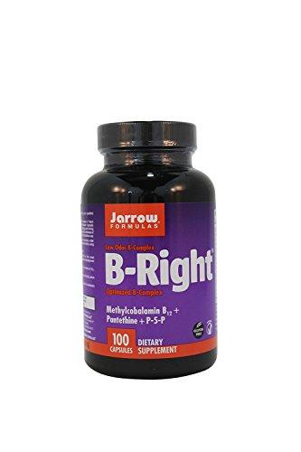 Jarrow Формулы - B-Right / B-комплекс, 100 капсул