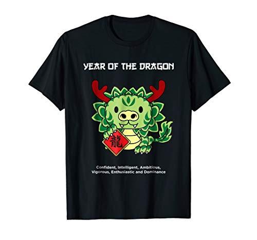 Year of The Dragon Chinese Zodiac T-Shirt Lunar New Year (Dragon Zodiac Year)