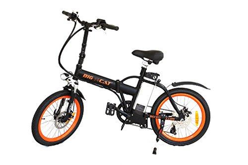 Big Cat Electric Bikes Hampton Folding Bike