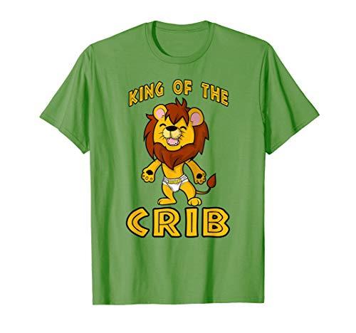 Baby Lion Cub King of the Crib ABDL T Shirt -  NaughtyBoyz ABDL, Pup & Fetish Lifestyle T Shirts