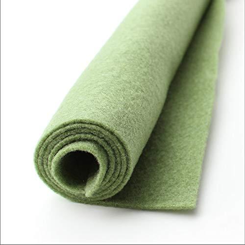 Loden Green Wool - Loden - Grey/Green - Giant Sheet of Acrylic Felt - 1 36x36 inch XXL Sheet