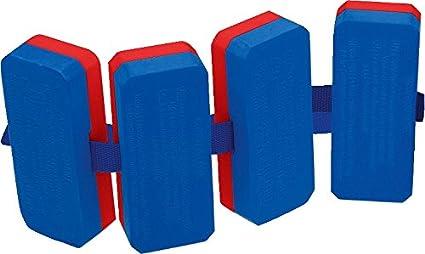 F/ür Schwimmunterricht und Schwimmschulen Schwimmhilfe bis 30 kg 100 g 4-teilige Schwimmer Blau-Rot Plastazote F/ür Kinder u Sport-Thieme Schwimmg/ürtel Erwachsene