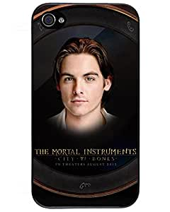Comics Iphone4s Case's Shop iPhone 4/4s Scratch-proof Protection Case Cover For iPhone 4/4s Hot The The Mortal Instruments: City Of Bones Phone Case 3913658ZG838124748I4S