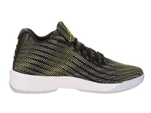 Zapatillas De Baloncesto Jordan Hombres B. Fly Black / Opti Yellow / Wolf Gray