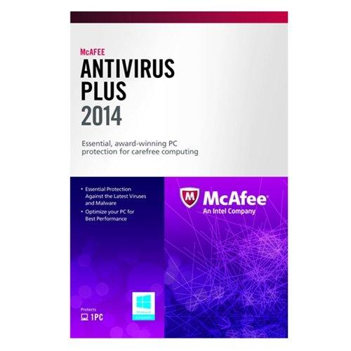 McAfee AntiVirus Plus 1PC 2014 - Buy Online in Oman