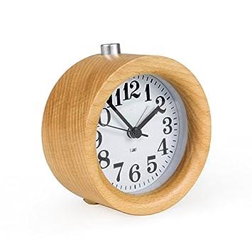 Entzuckend Syksdy Die Digitale Uhr Stumm Holz Schreibtisch Uhr Raum Schlafzimmer Mit  Wecker Kreativ