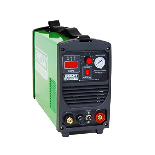 2017 Everlast SuperCut51P 110v/220v Dual Voltage 50 Amp Pilot Arc Inverter plasma cutter
