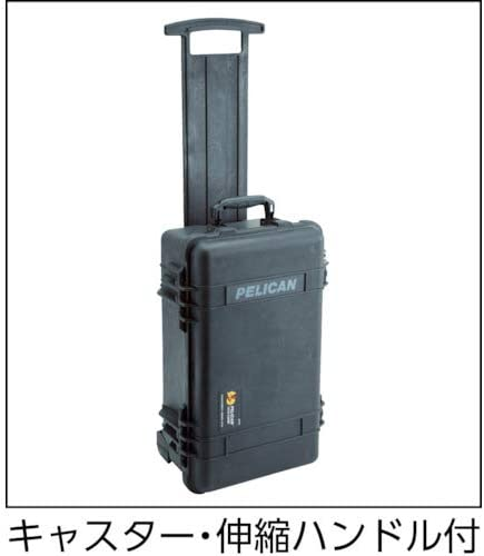 Black Pelican 1510 Case With Foam