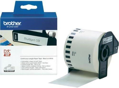 Endlosrolle 62mm P-Touch QL 570 Brother Etiketten 62 mm x 30, 48 meter, Papier, 1 Endlosetikett, DK Label für Ptouch QL570