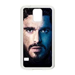 Samsung Galaxy S5 Cell Phone Case White Game Of Thrones Robb Stark S5A4SP