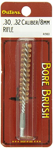 Outers .30 - .32 Caliber/8mm Rifle Bronze Bore Brush (8-32 Threads)