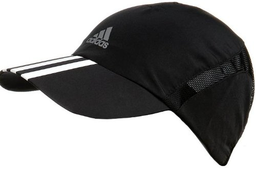 4afab8e6fe1 Adidas Run ClimaCool 3-Stripes Running Cap - One  Amazon.co.uk  Clothing