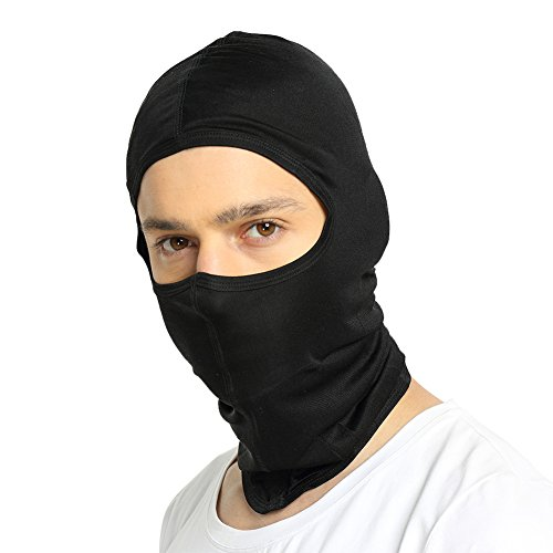ALASKA BEAR Natural Silk Balaclava Windproof Face Mask for Skiing, Motorcycling (Skull Sock Mask)