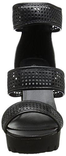 Charli 10 Musta Sandaali Alustalla Naisten Qupid B50gqE0