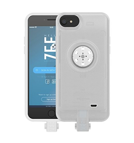 Battery case iPhone 6/6s/7/8- with Built-In 128GB Memory+Battery 2600mAh+Wireless Charging - ClearApple Certified) by HELLO ZEE