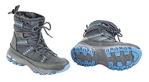 BUSSE ice Thermoschuh grau blue BURNABY rPxnYavP