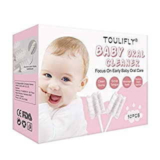 Baby Toothbrush,Baby Tongue Cleaner,Infant Toothbrush,Baby Tongue Cleaner Newborn,Toothbrush Tongue Cleaner Dental Care for 0-36 Month Baby,30 Pcs