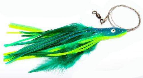 """DOLPHIN RIG 7/0 WIRE RIGGED,DOLPHIN,5 1/2"""" / 1 OZ"""