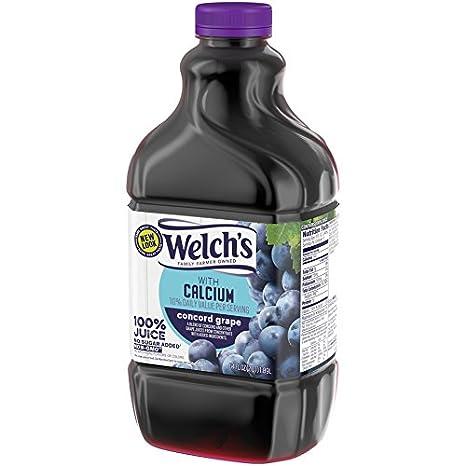 Jugo de 100 % uva púrpura de Welch: Amazon.com ...
