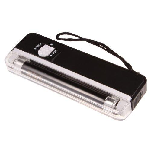 2 in1 Hand Held Portable Uv Black Light Torch Lamp Money Det