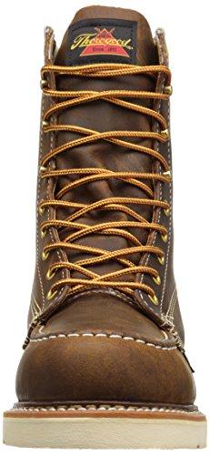 Thorogood Mens American Heritage 8 Moc Toe - Safety Toe Trail Crazyhorse