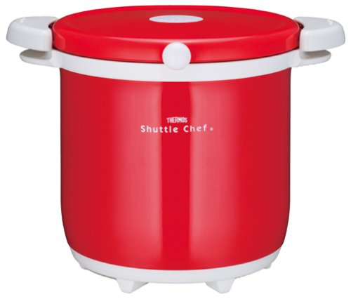 THERMOS vacuum insulation cooker shuttle chef 4.5L tomato KBA-4501 TOM by Thermos