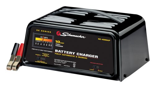 Shumacher SE-40MAP 10 Amp Automatic/Manual Battery Charger