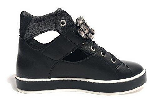 Jo Col Mod Liu Donna Jourdan Nero Scarpe Ds18lj07 Alto Sneaker UdHfdw