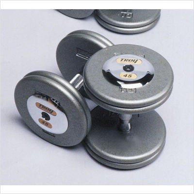 Troy Barbell Fixed Pro-Style Dumbbells – Straight Handle with Chrome End Cap Review