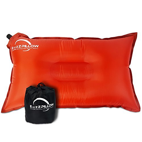 Inflatable Camping Pillow made our list of camping gifts couples will love and great gifts for couples who camp