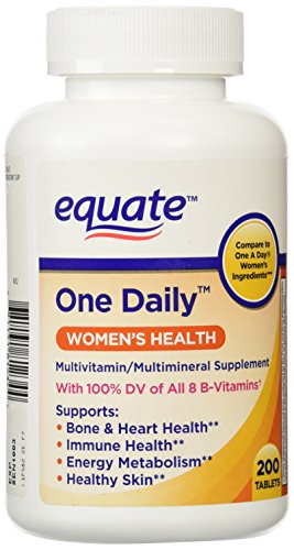 Equate - Women's One Daily Multivitamin, 200 Tablets