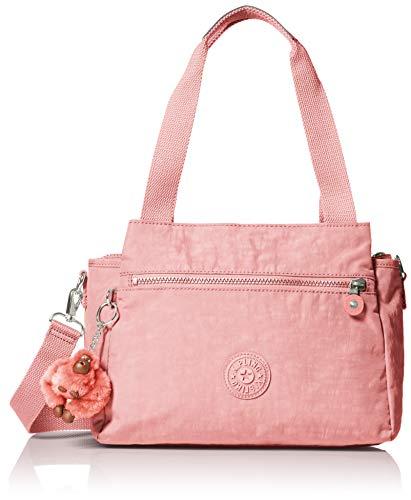 (Kipling Elysia Solid Convertible Crossbody Bag, strawberry pink tonal)