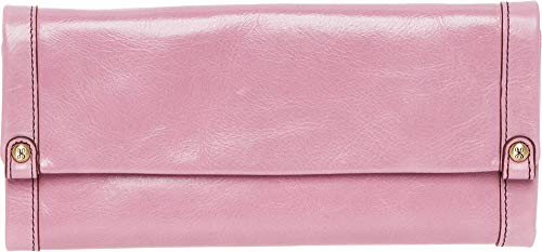Hobo Women's Vintage Leather Fable Wallet Clutch (Lilac)