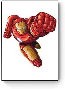Quadro decorativo A4 Marvel Homem de Ferro: Amazon.com.br